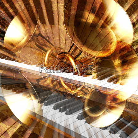 abstract, musical, background, piano - 2872325