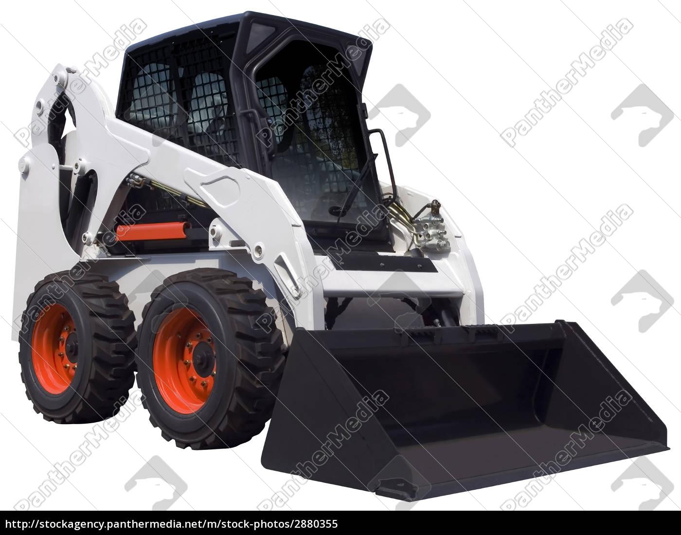 white, bulldozer - 2880355