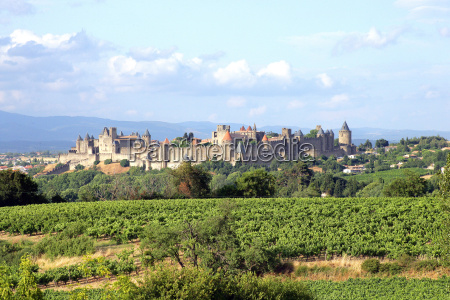 overview of carcassonne in the aude