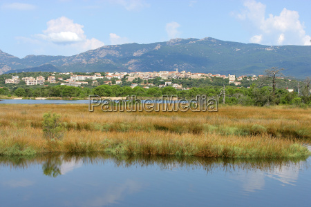 overview, of, porto, vecchio, in, southern - 2898553
