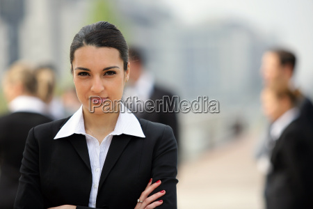 portrait, of, woman, in, business, suit - 2899931