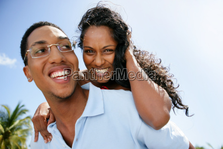 portrait, of, a, mixed, race, couple - 2900275