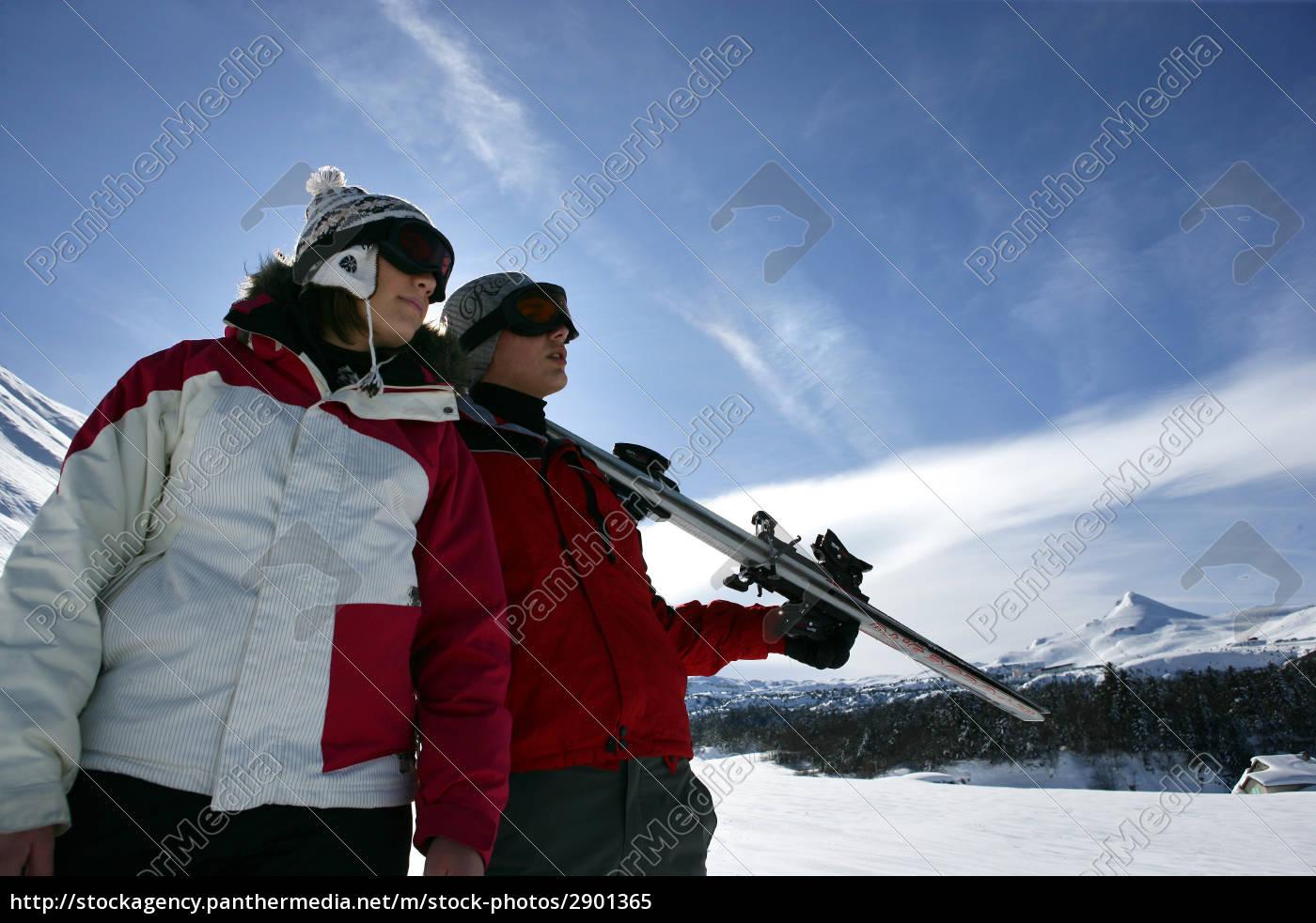 woman, close, profile, sport, sports, winter - 2901365
