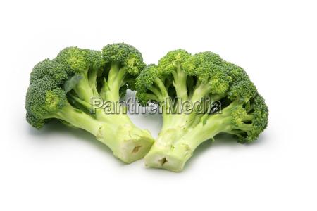 broccoli, on, white, background - 2904407