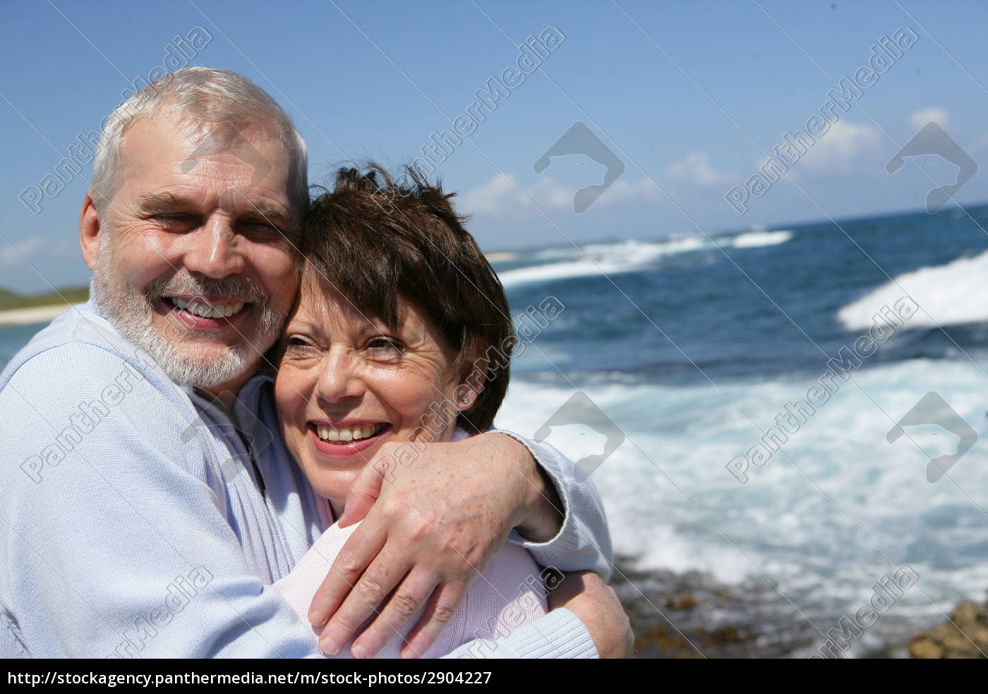 portrait, of, a, senior, couple, smiling - 2904227