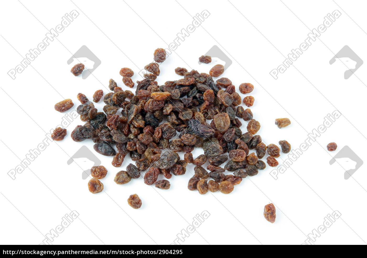 raisins, on, white, background - 2904295