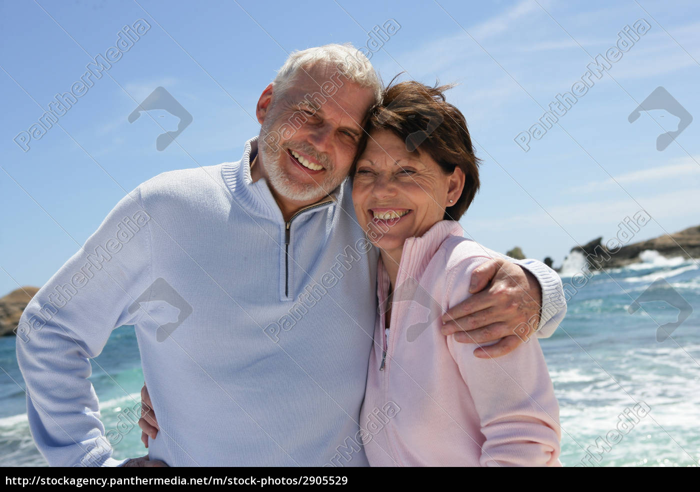 portrait, of, a, senior, couple, smiling - 2905529