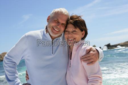 portrait, of, a, senior, couple, smiling - 2905529