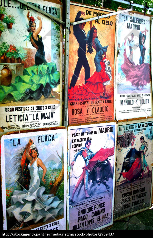 posters, of, bullfighting, and, flamenco - 2909437