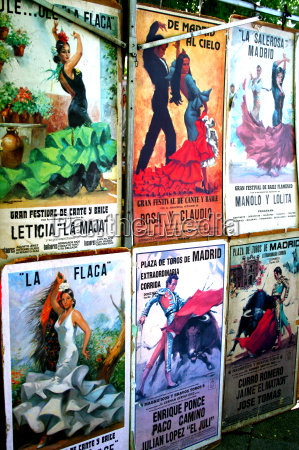 posters, of, bullfighting, and, flamenco - 2909437