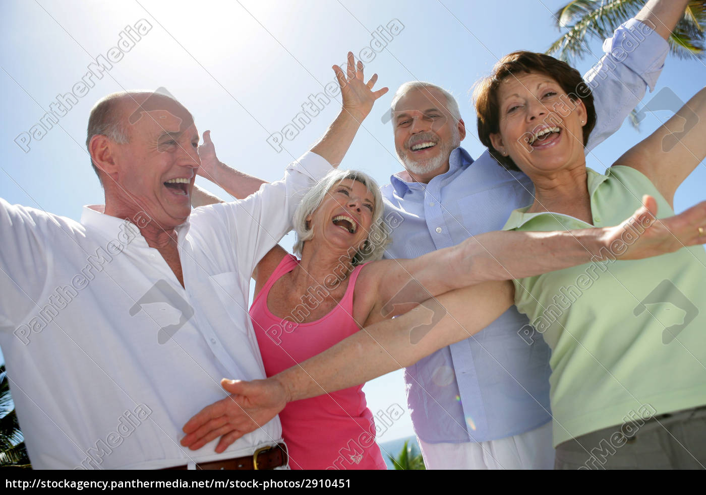 happy, group, of, seniors, by, raising - 2910451