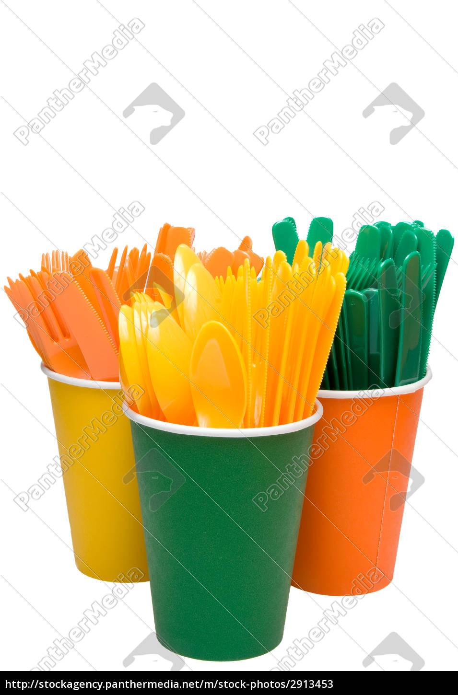 plastic, silverware - 2913453