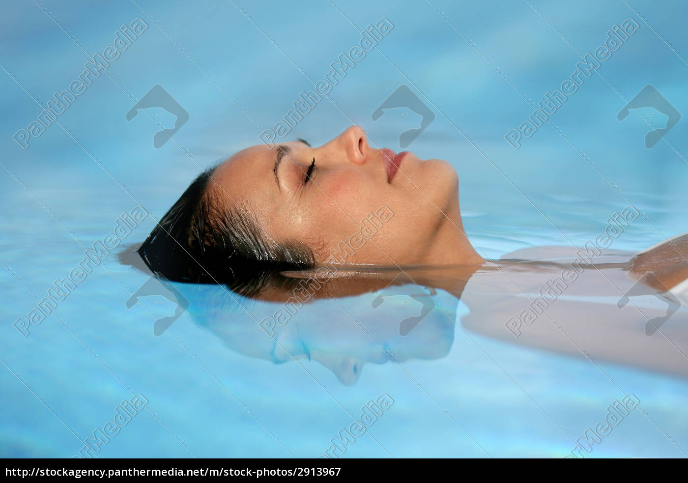 portrait, of, a, woman, bathing, at - 2913967