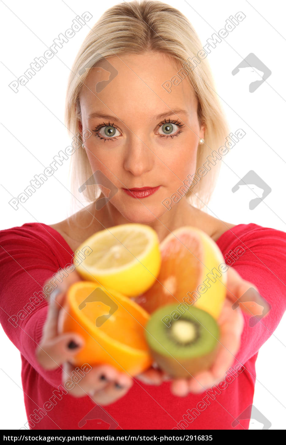 woman, with, fruit - 2916835