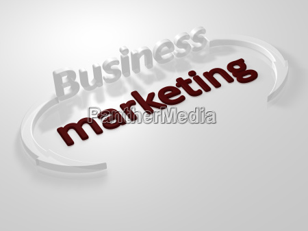 business marketing lettering