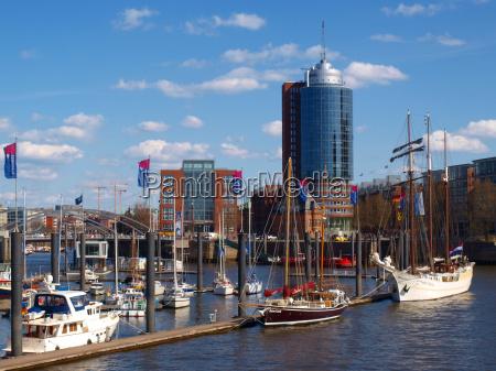 porto hamburgo portas elba rio agua