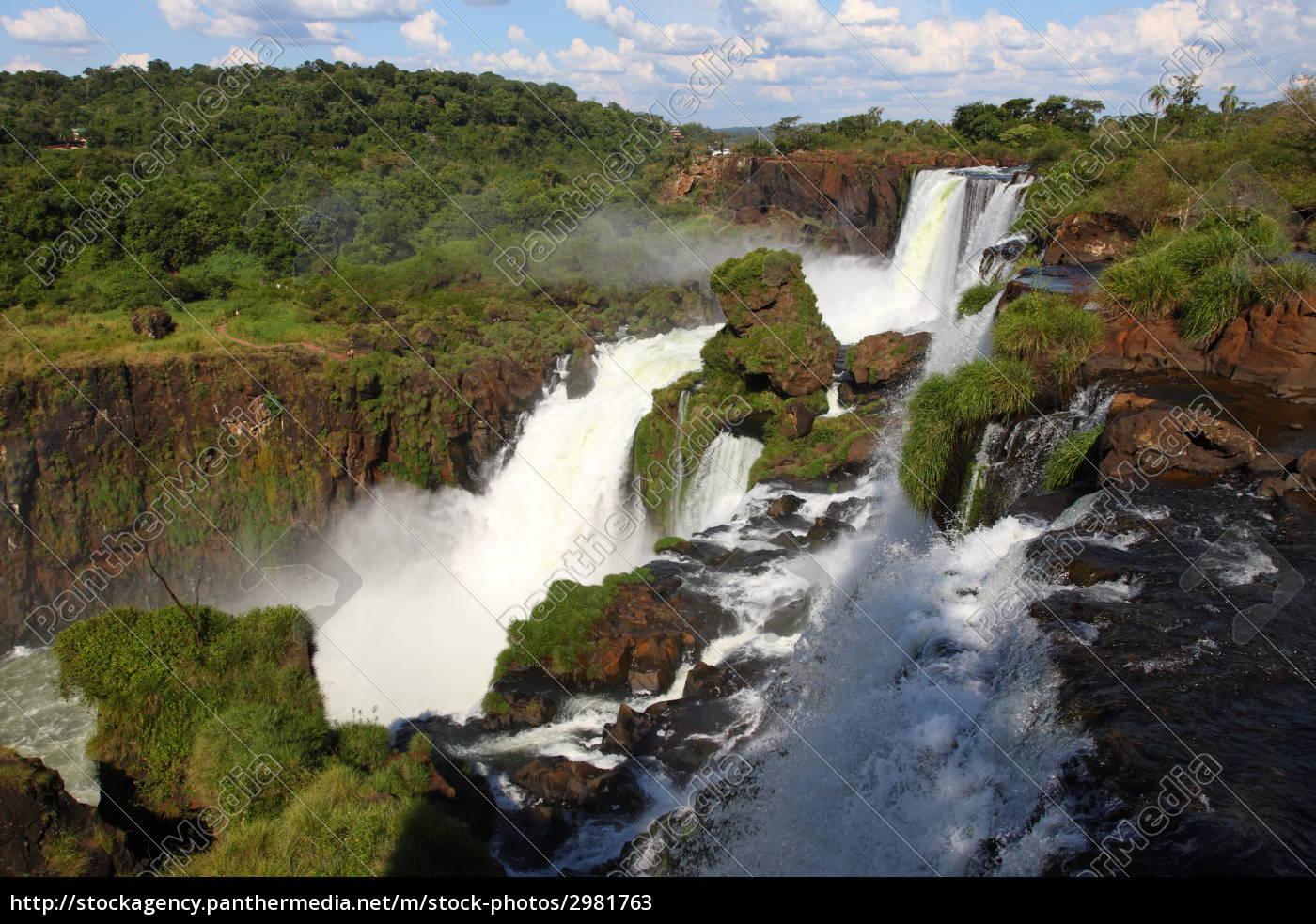 iguassu, waterfalls - 2981763