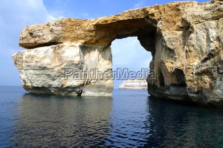 the arch on gozo malta