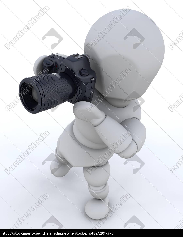 man, using, camera - 2997375