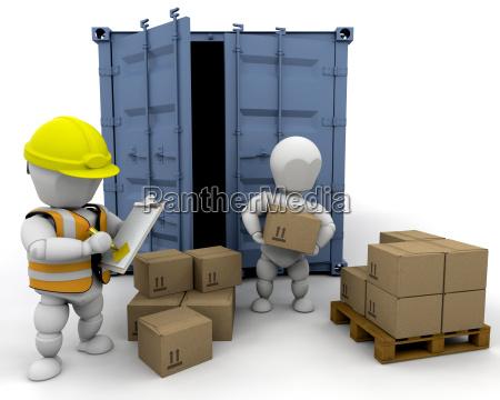 3d, men, handling, materials - 3000681