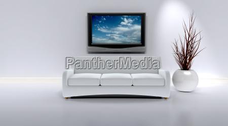 sofa, in, a, contemporary, interior - 3001811