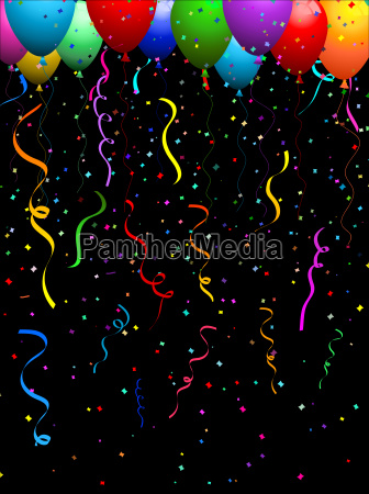 confetti, and, balloons, - 3002593