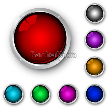 glossy, metallic, icons - 3003059