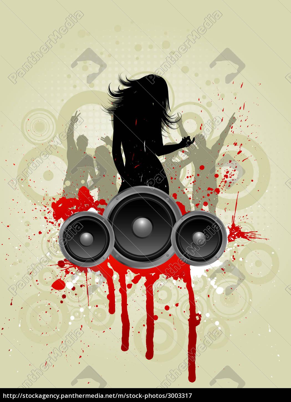 grunge, music, background - 3003317