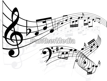 music, notes, background, - 3003651