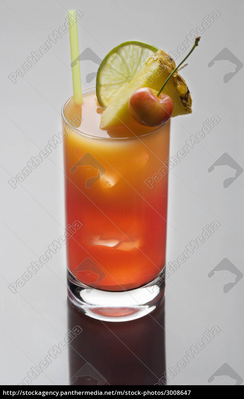 mai, tai, cocktail, on, a, grey - 3008647