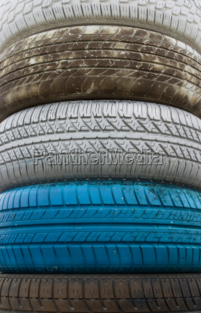 colored, old, tires - 3023810