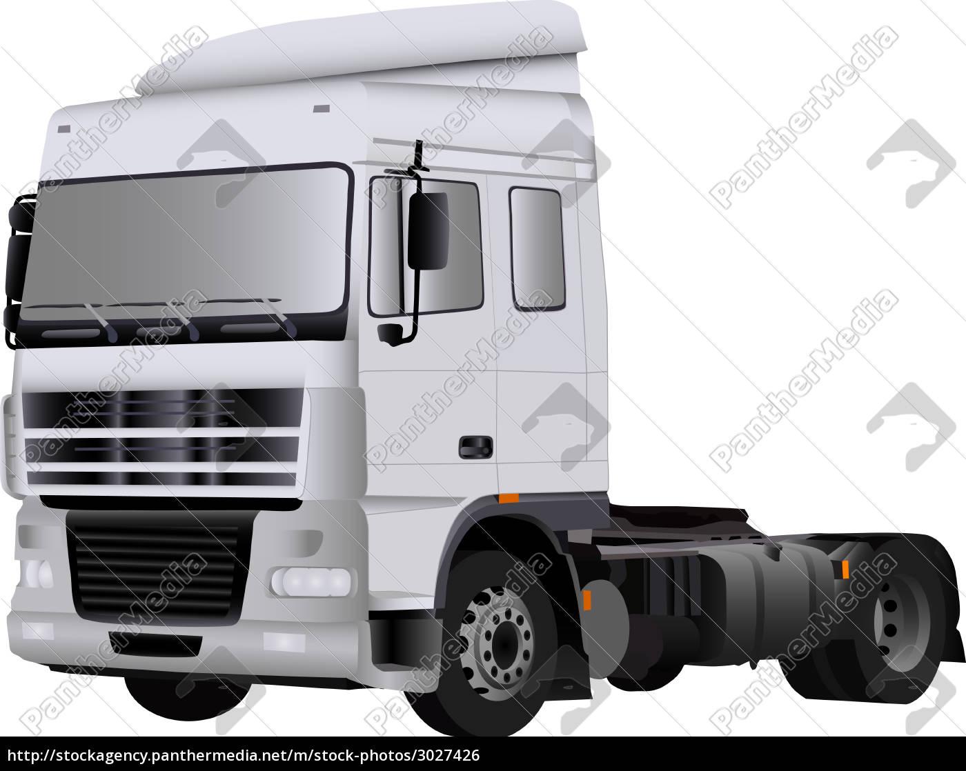 illustration, paint, draw, cartoon, color, camion - 3027426
