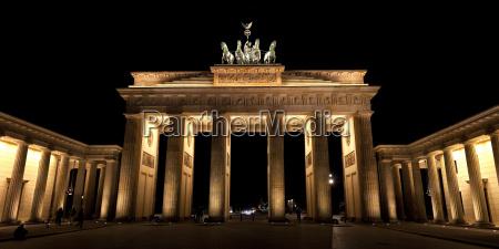 panorama, brandenburg, gate - 3031555