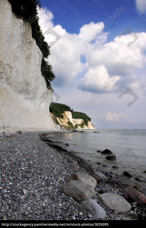 rügen, chalk, cliffs - 3035095