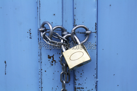 padlock, with, chain - 3039641