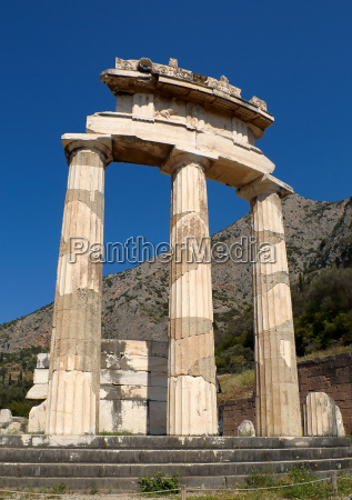 the, tholos, temple, in, delphi - 3042891