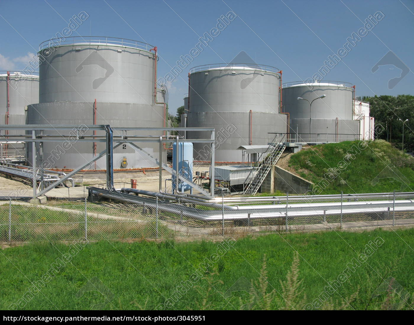 oil, rafinery, -, industry - 3045951