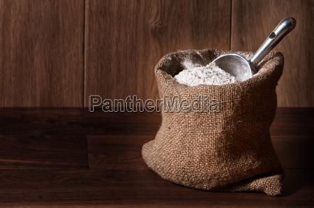 flour, sack, with, scoop - 3046313
