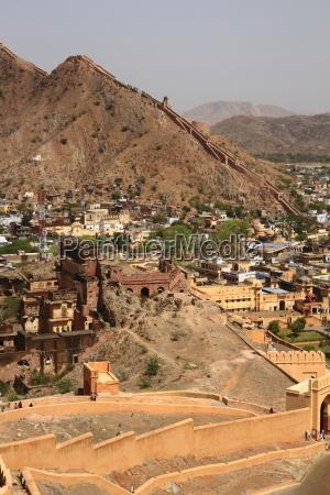 india, amber, chateau, castle, jaipur, quotpink cityquot - 3046493