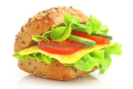 tasty and fresh sandwiches