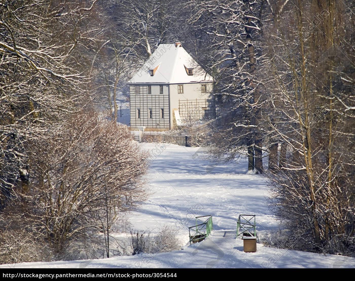 goethe, gartenhaus, in, weimar - 3054544