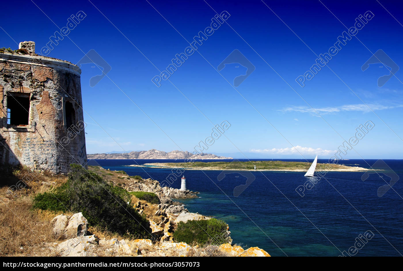 yacht, and, lighthouse - 3057073