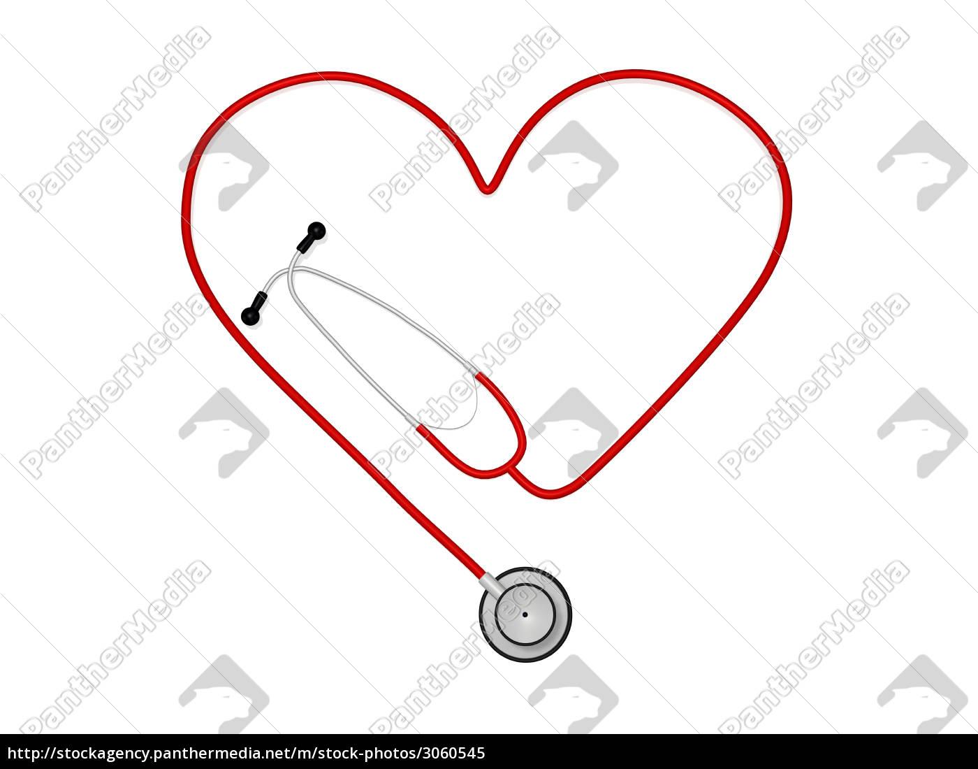 heart, stethoscope - 3060545