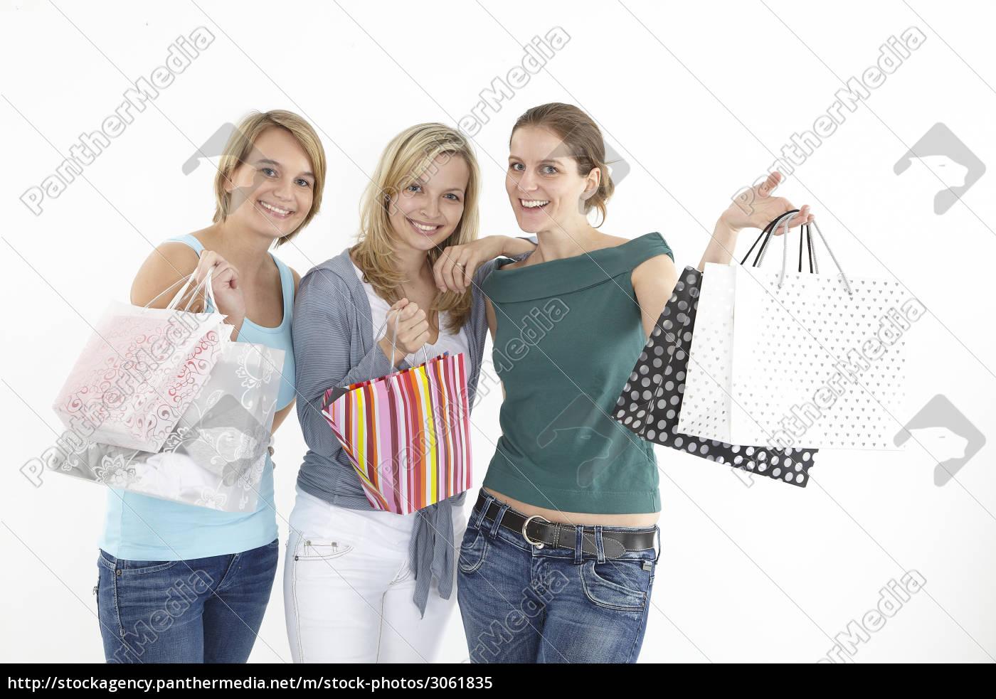 after, shopping, three, girlfriends - 3061835