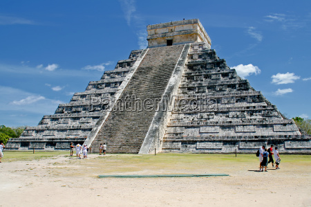 kukulcan, pyramid, in, chichen, itza - 3084833
