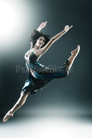 stylish and young modern style dancer