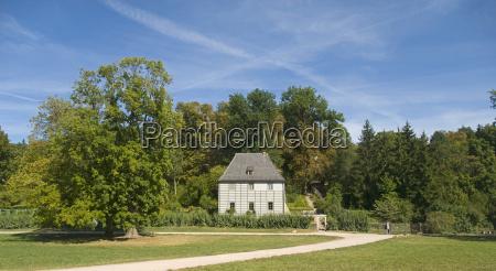 goethe summer house in weimar