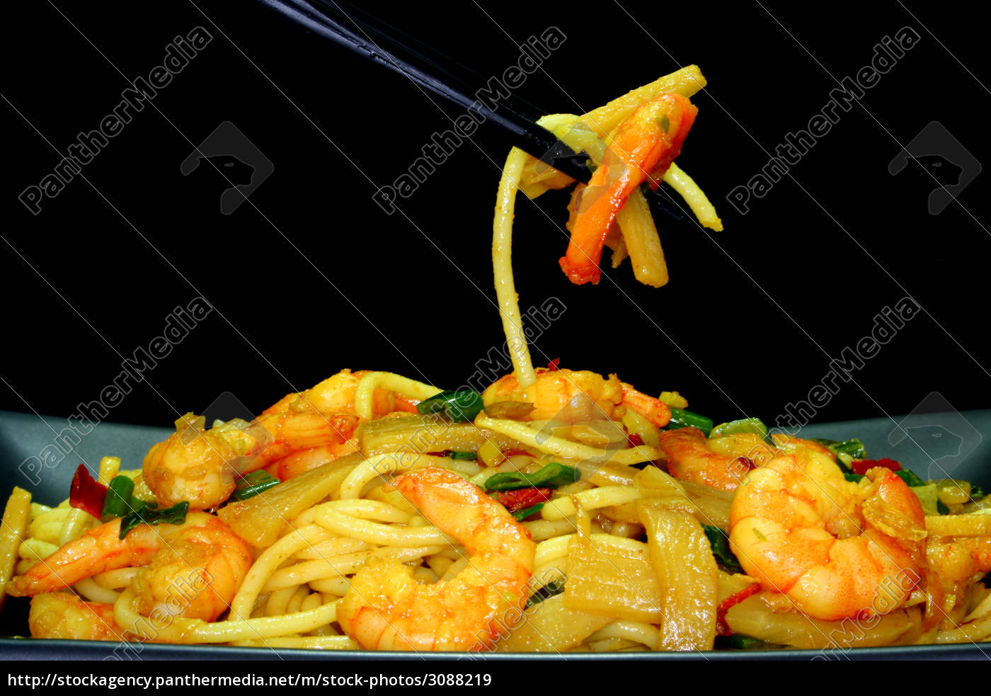 pasta, with, asia-shrimp - 3088219
