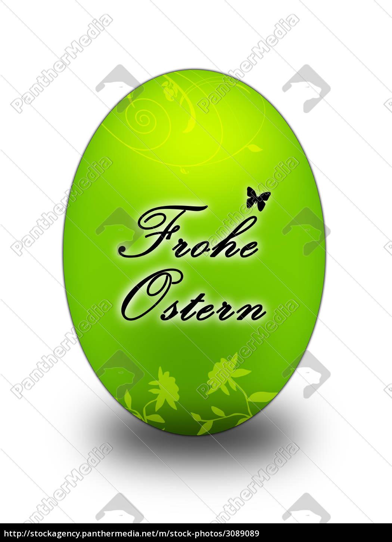 easter, egg, green - 3089089