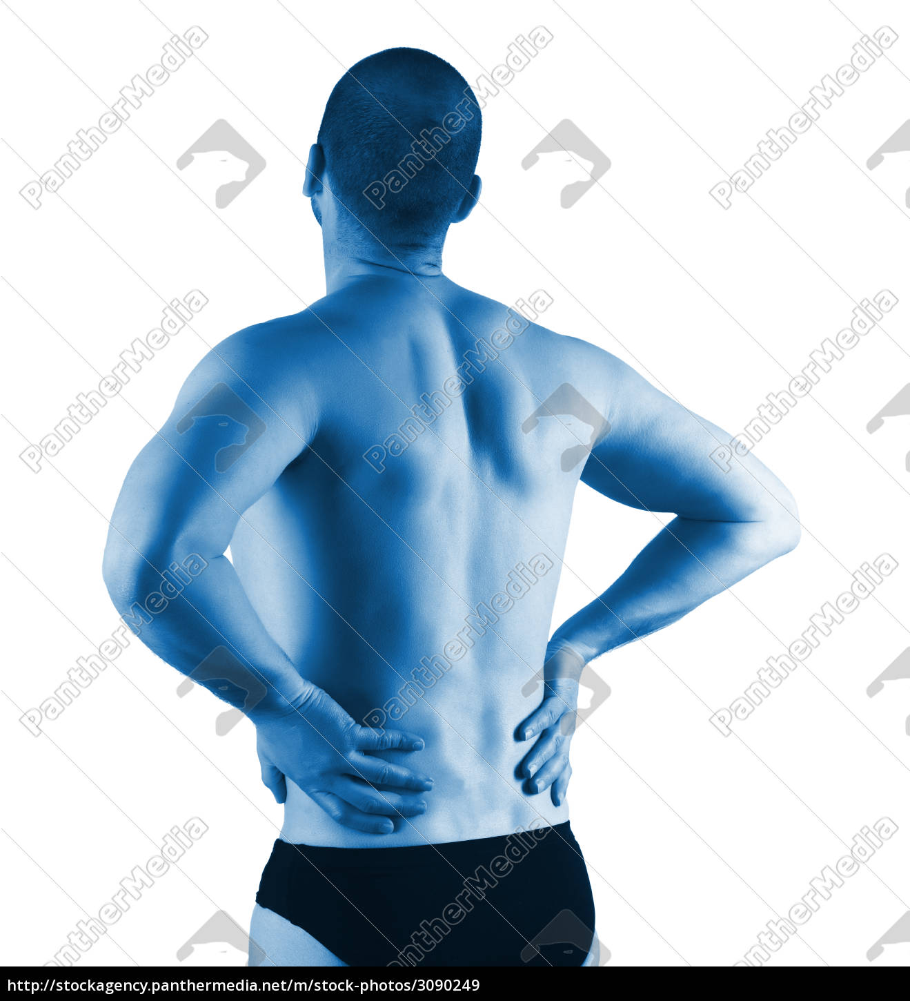 back, pain, and, injury - 3090249